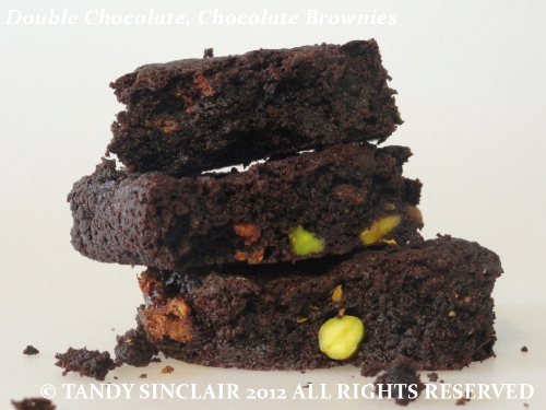 Double Chocolate Chocolate Brownies