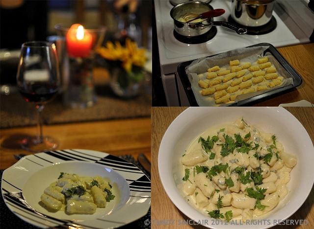 Gorgonzola Gnocchi For The Jolly Cookathon