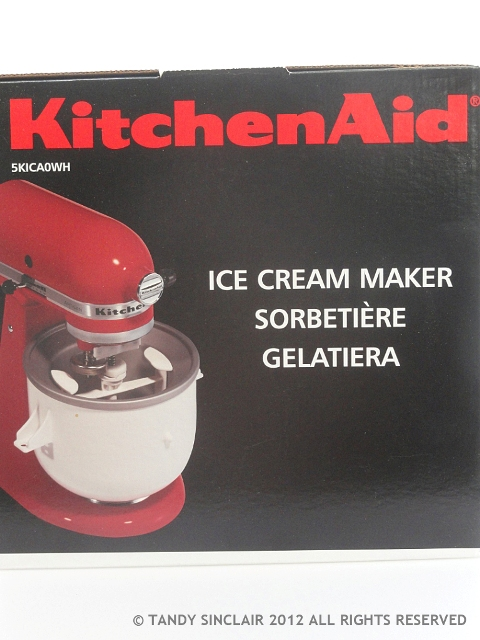 Ice Cream Churner In My Kitchen January and February 2013
