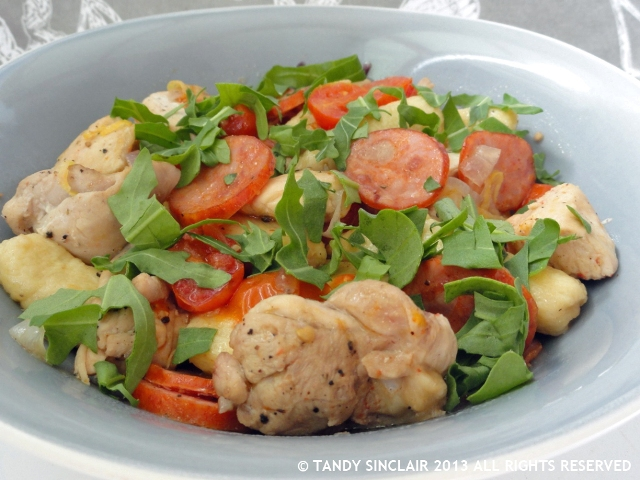 Chicken And Chorizo Gnocchi