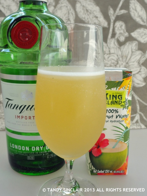 """Tanqueray Gin Breeze Cocktail"""