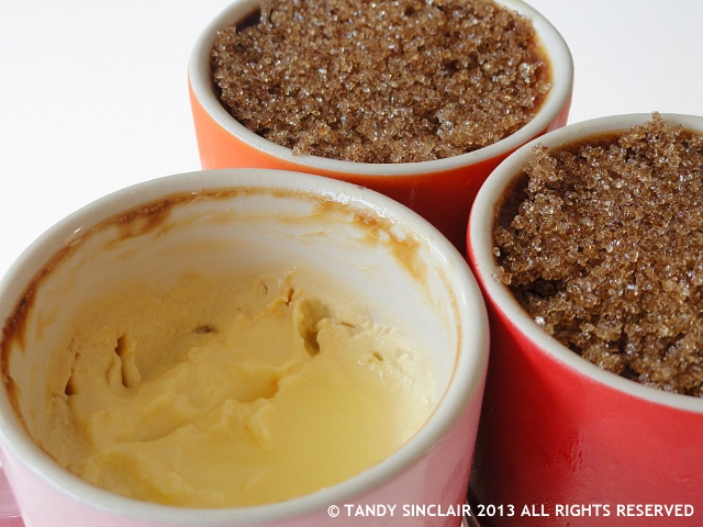 Lemongrass Custard Pots from Ultimate Cookery Course