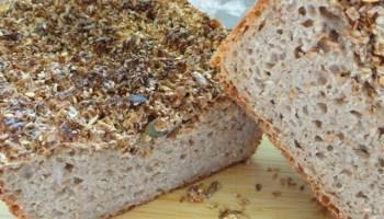 Sourdough Whole Wheat Seed Bread