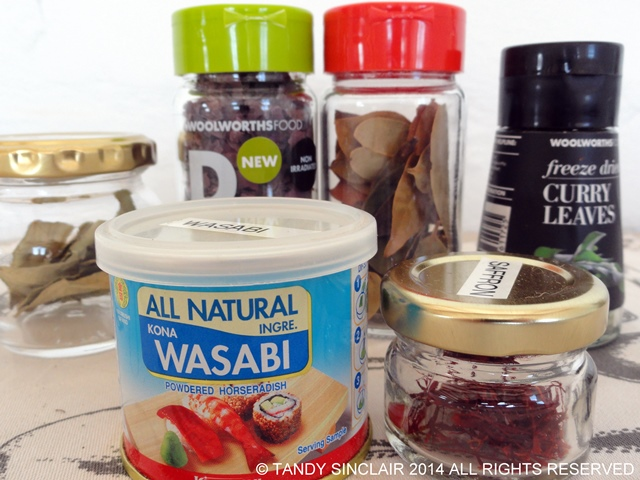 Stocking A Spice Drawer: Leaves and more