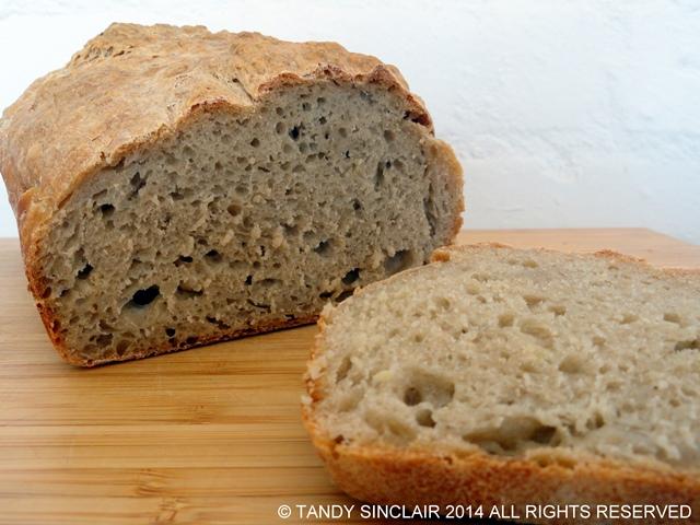 No Knead Sandwich Bread