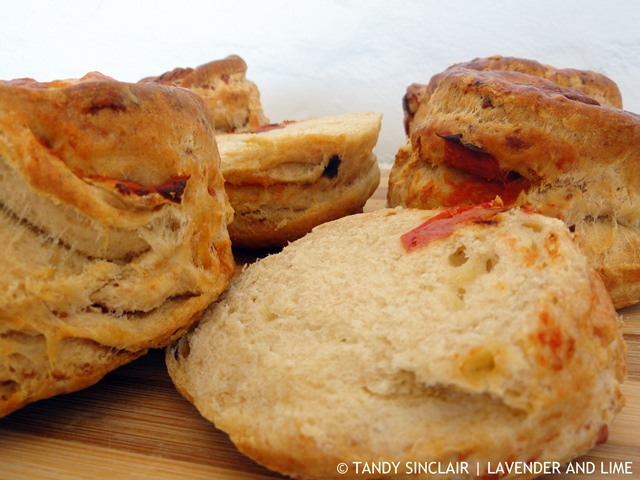 Cheese And Tomato Scones