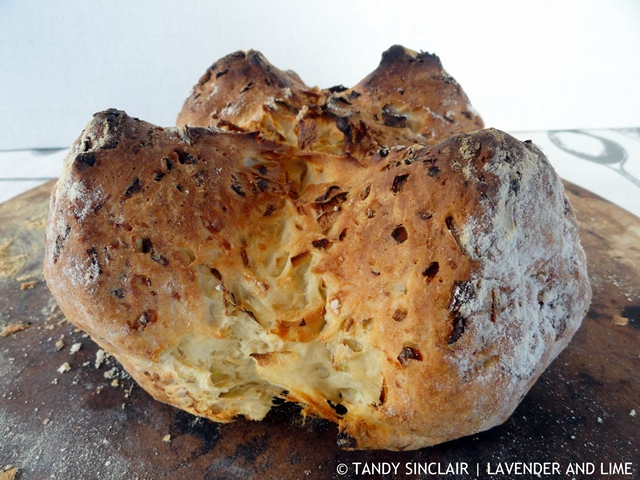 Leek And Cheese Soda Bread