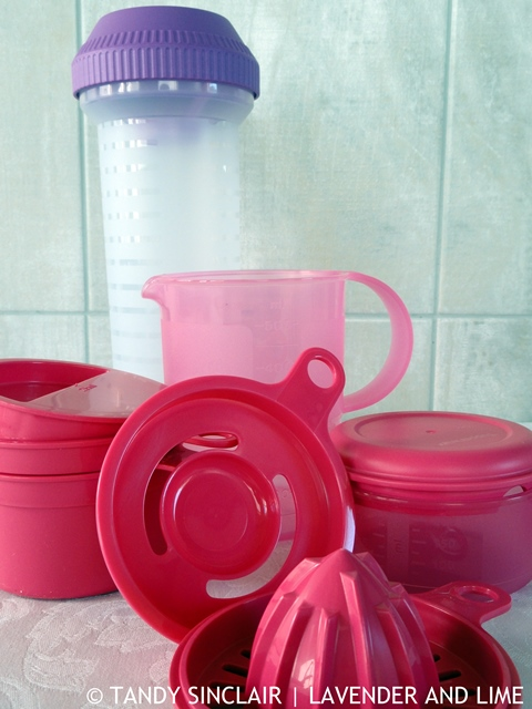 Tupperware Items From Celebrity Bake Stars