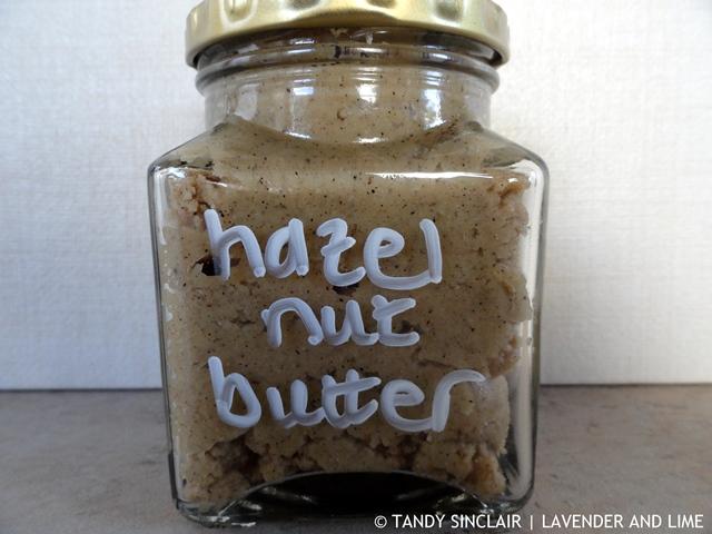 Hazelnut Butter October 2015
