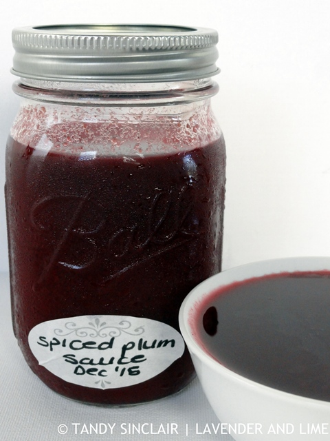 Spiced Plum Sauce