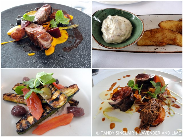 Our Main Course At Benguela Cove