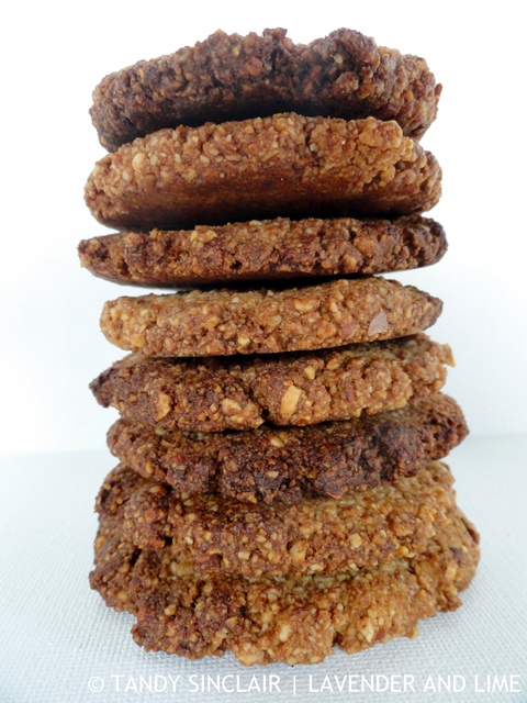 Dannii's Healthy Gingernut Biscuits May 2016