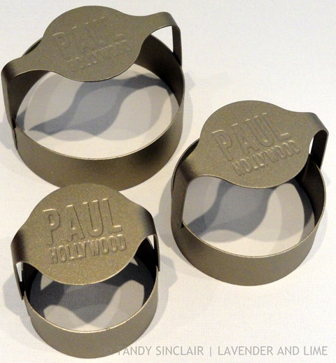 Plain Edged Pastry Cutters