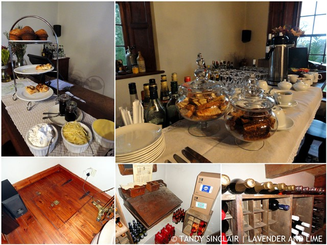 Pastries and a Cellar at Schoone Oordt, Swellendam