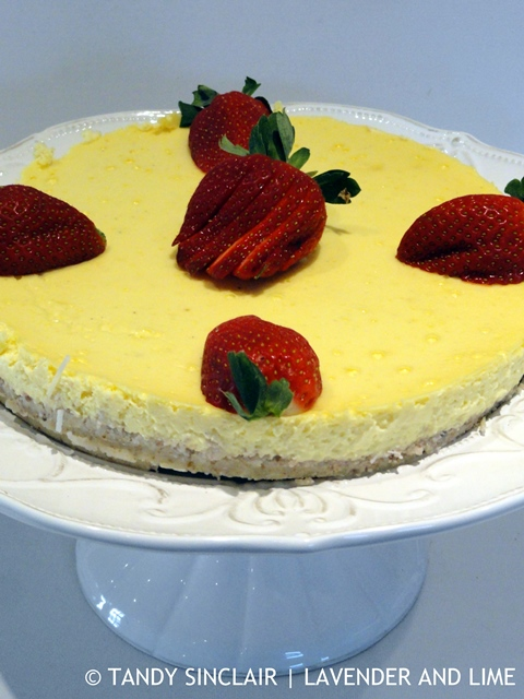 Gluten-Free Lemon Cheesecake