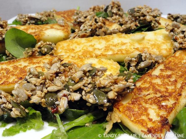 Smokey Halloumi Salad