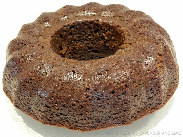Maple Plum Cake