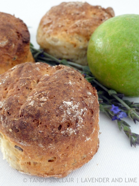 Lavender And Lime Scones