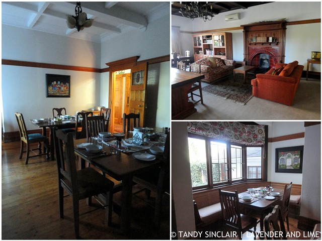 Lounging And Dining At King Georges Guesthouse