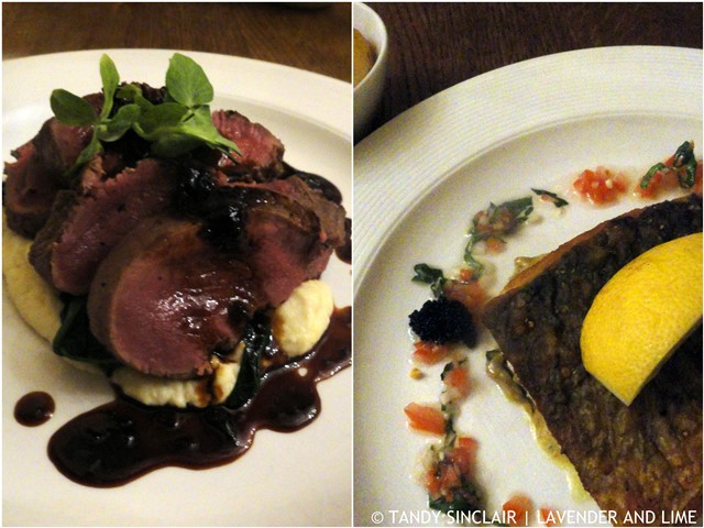 Main Courses At Field And Fork