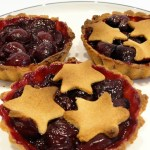 Cherry Compote Tart Made With Gluten-Free Shortcrust Pastry January 2020