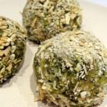 Pea And Spinach Pesto Arancini