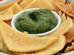 Chimichurri Sauce With Tortilla Chips
