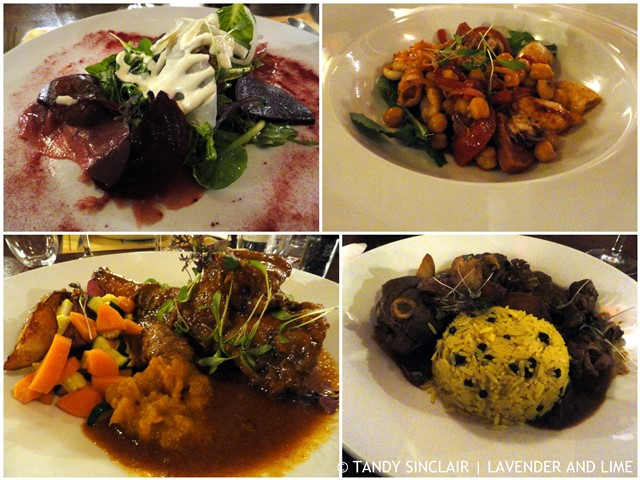Starters And Main Course