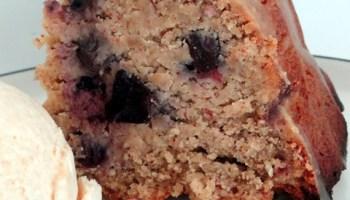 Gluten Free Blueberry Bundt Cake