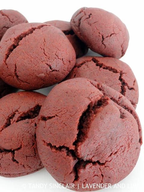 Sourdough Red Velvet Choc Chip Cookies