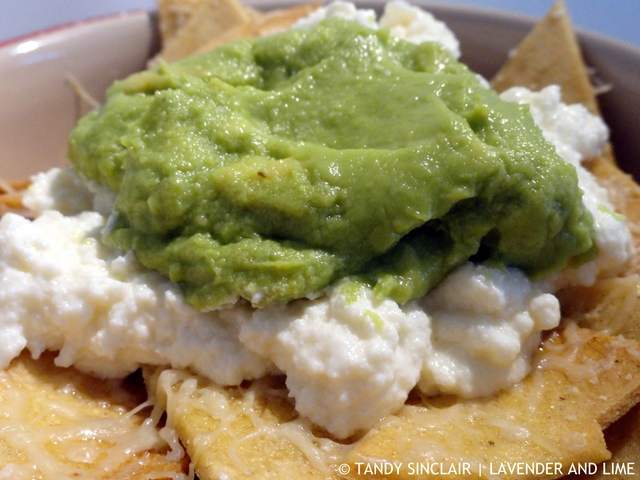 Handmade Nachos With Queso Fresco And Guacamole
