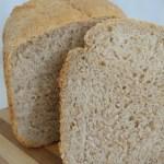 Sourdough Wholemeal Bread Maker Loaf