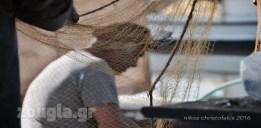 Ψαράς και δίχτυ