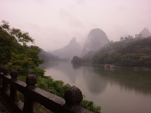 Down by the river in Yangshuo