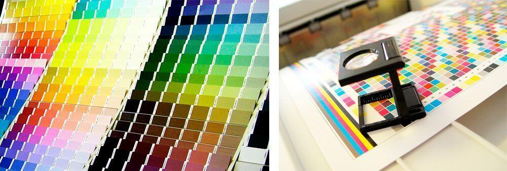 pruebas de color