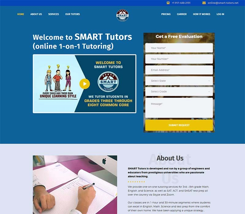 WordPress Theme Customization - Smart Tutors