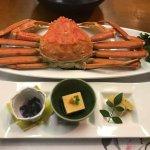 蟹ディナー