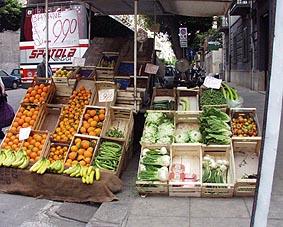 シチリア 果物屋