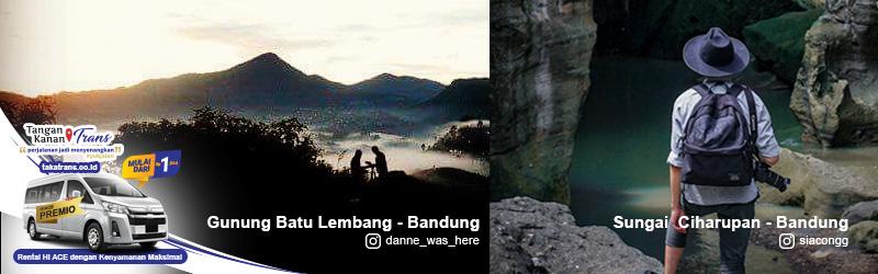 Sewa Hiace Jakarta Ke Wisata Bandung Barat