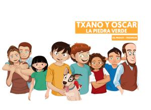 Txano y Óscar la piedra verde libro gratis