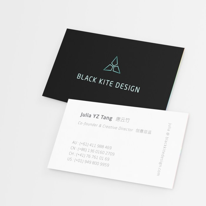 Black Kite Design - Business Card