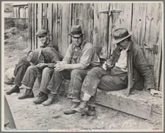 four men depression era