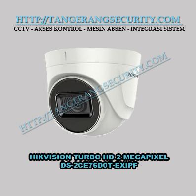 Instalasi CCTV Tangerang - Hikvision DS-2CE76D0T-EXIPF