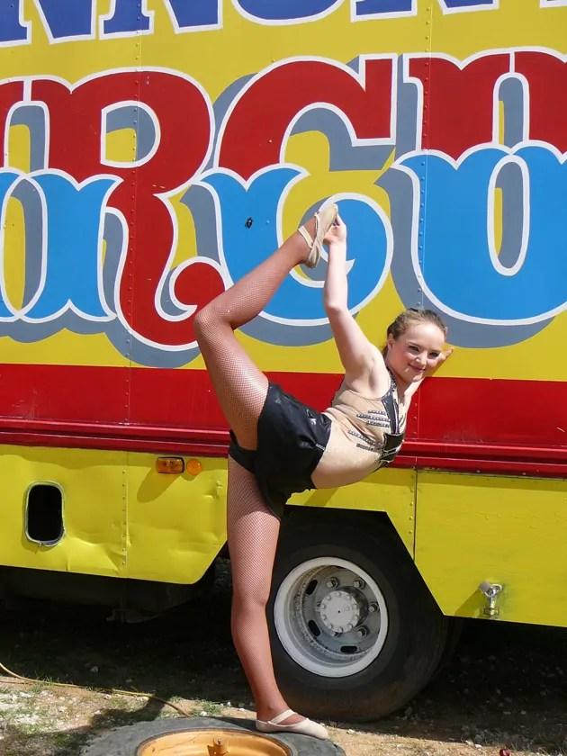 Kate Lawrence flexibility
