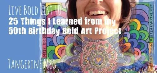 header for blog post Live Bold List 40