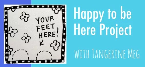 """Header for information page about the """"Happy to Be Here Project"""""""