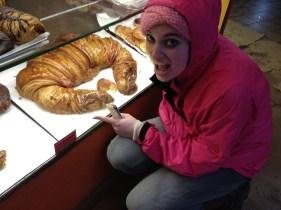 the biggest croissant!