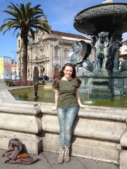 Jackie in Porto