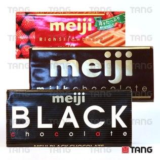 Meiji Chocolate Range