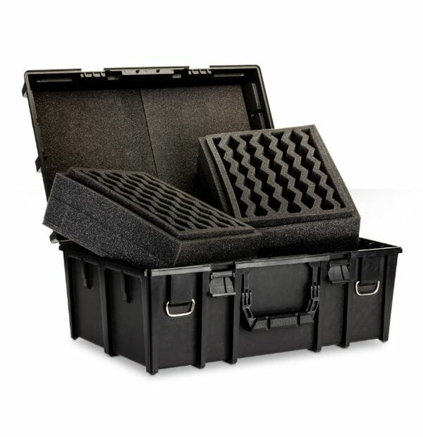 Citadel Crusade Case (Army Transport): Worth It? - Open case with foam channel
